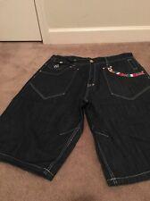 Eight Mens Blue Denim Jean Shorts Sz 42 Clothes