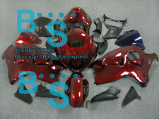 Gloss red Fairing & Tank Cover Seat kit Suzuki Hayabusa GSX1300R 97-07 176 B2