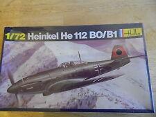 HELLER KIT 240   1/72   HEINKEL  HE112B (WWII GERMAN FIGHTER )