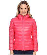 Adidas~Womens Pink Outdoor Light Down Hoodie Packable Jacket~Puffer~Sz XS,M,L,XL