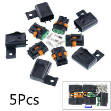 5X 2.5cm Plastic Fuse Holder Assembly Splice Existing Wire Kit For ATO ATC Fuses
