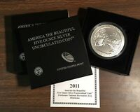 2011P ATB Chickasaw uncirculated 5 troy oz, .999 pure Oklahoma