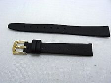13mm Hadley Roma Genuine Smooth Leather Soft Watch Band Strap fit Movado Museum