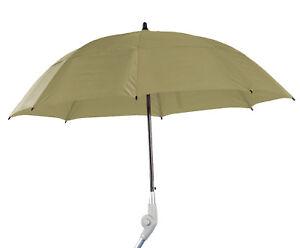 Rollatorschirm PROTEKTOR, Regenschirm für Rollator, Rollator-Schirm