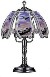 Mustang  and eagle Touch Lamp 24 inch