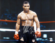 MIKE TYSON AUTHENTIC AUTOGRAPHED SIGNED 16X20 PHOTO BECKETT 180899