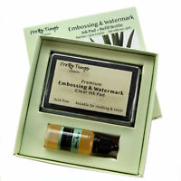 Embossing Stamp Pad Clear Ink Refill Set Watermark Pad Pretty Things London
