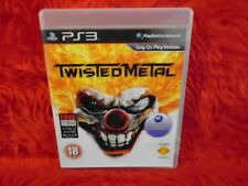 *ps3 TWISTED METAL (NI) Rev Into Action Combat Game Playstation PAL REGION FREE