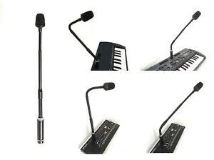 SHOCK ELECTRONIX GM3 XLR Gooseneck Microphone For QUASIMIDI SIRIUS SYNTHESIZER