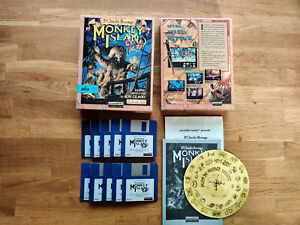 Monkey Island 2 LeChucks' Revenge A LucasArts Amiga Game Tested&Working