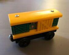 Thomas & Friends Wooden Railway BOX CAR Sliding Door Train Wood Engine Toy