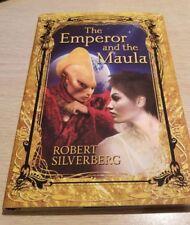 ROBERT SILVERBERG new HCDJ~ THE EMPEROR AND THE MAULA ~ 1st Edition Subpress