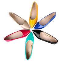 Candy Sweet 6Colors Womens Flats Pointed Toe Shoes Lady Gril Office Shoes +sizes
