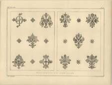 1878 feuilles Mur de couches pour Pochoir Décoration