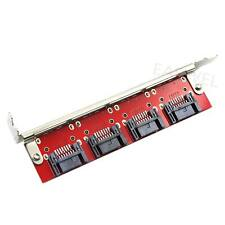 SATA to eSATA ESATA to SATA Adapter Card two-way 4 Port PCI Bracket