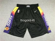 NEW Phoenix Suns City Edition Black Men's Basketball Shorts Size: S-XXL