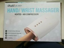 Osaki Hand Wrist Massager Relaxation Air Pressure Heated Fingers Relax Massage
