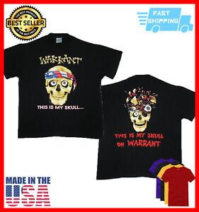 Warrant T Shirt This is My Skull concert tour 1991 shirt Vintage Unisex S-5XL