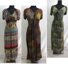 US SELLER-lot of 4 wholesale maxi dresses ladies resort wear long dress