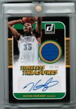 KEVIN DURANT 2014-15 TIMELESS TREASURES GU AUTO 20/99 LEAF BEST OF BUYBACK