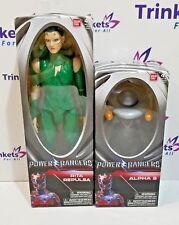 "Power Rangers Movie -  RITA REPULSA Green Ranger 12"" & ALPHA 5 Action Figure"