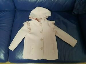 Ted Baker Girls Baby Pink Jacket Age 3-4