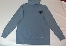 NWT Quiksilver Long Sleeve Matlock Blue Pullover Hoodie     Large      L599