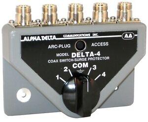 Alpha Delta-4BN Coaxial Switch