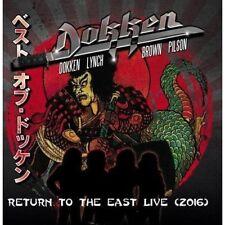 DOKKEN Return To The East Live 2016 + 3 JAPAN CD + DVD Lynch Mob Sweet & Lynch
