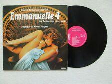 "LP 33T MICHEL MAGNE ""Emmanuelle 4"" CARRERE 66.084 FRANCE 1984 /"