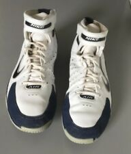 Nike Air Total Package Huaraches Hi Men Trainers 310431-143 Size 14 Navy/White