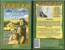 RARE / K7 VIDEO - LE TRESOR DE TARZAN avec JOHNNY WEISSMULLER