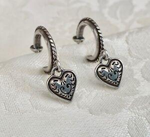 Brighton Earrings Hoop With Heart