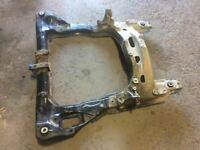 13-14 Honda Accord CVT  Front Crossmember Subframe Frame Beam Cradle 2.4L V