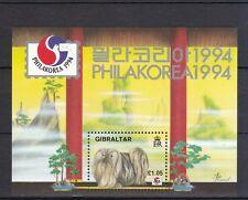 Gibraltar 1994 postfrisch MNr. Block 20  Briefmarkenausstellung PHILAKOREA 94