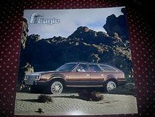 1985 AMC EAGLE BROCHURE WAGON SEDAN 4X4