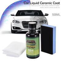 10H Nano Ceramic Pro Car Glass Coating Liquid Hydrophobic Anti Scratch Care Wax