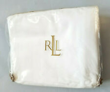 Lauren Ralph Lauren Lawton Supima Cotton White One King Comforter Cover