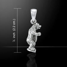 Bear .925 Sterling Silver Pendant by Peter Stone
