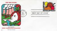 U.S. 1977 ENERGY DEVELOPMENT #U584 Stationary #6 Envelope Fleetwood FDC Cachet