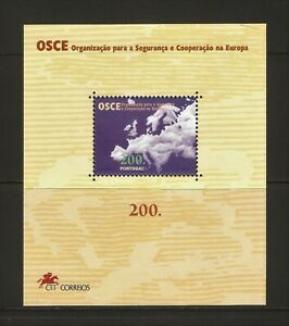 1996 - PORTUGAL - BLOCK - OSCE, Security and Cooperation in Europe  - XF