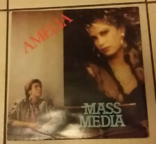 Mass Media – Amelia  - Insect Records INX 1003   - 1986 - RARO -
