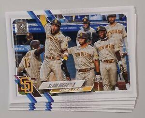 Carte de Baseball Topps - San Diego Padres (8) - Fernando Tatis Jr. - Team Card