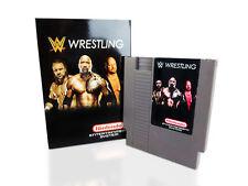 WWE Wrestling - Nintendo NES Game  With Box