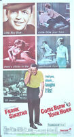 COME BLOW YOUR HORN MOVIE POSTER FRANK SINATRA 3 SHEET