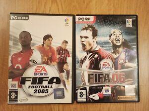 Lote: Fifa 2005 y 06 EA Sports Juegos PC Español