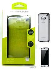 100% genuine PureGear slim shell case cover pour Samsung Galaxy S6 clair noir