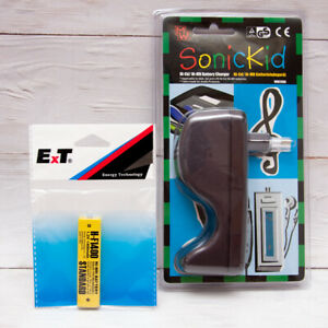 NEW Charger for AA or 14M GumStick Rechargeable Battery + 1x Gum Battery 1400Mah