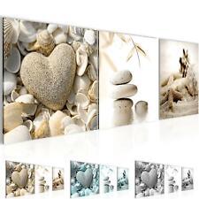 Wandbild XXL - Strand Steine Schlafzimmer Wohnzimmer - Flur - Bilder Modern 3D