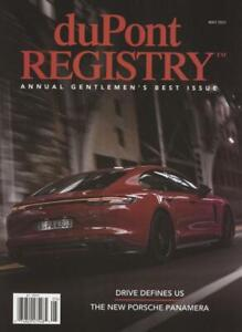 DuPont Registry of Fine Automobiles May 2021 Annual Gentlemen's Best Issue